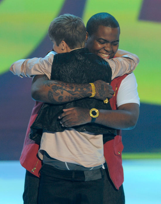 Justin Bieber at the Teen Choice Awards 2011