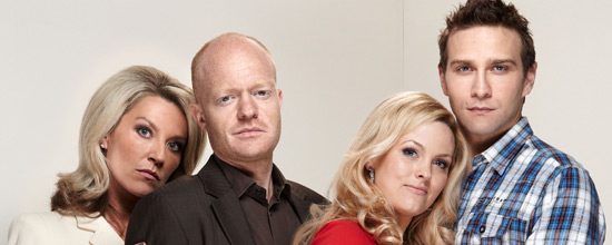 Vanessa, Max, Tanya and Greg from EastEnders