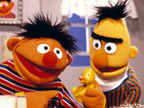 Bert and Ernie on &#39;Sesame Street&#39;