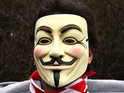 Anonymous had set up parody page of controversial group at end of last year.