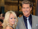 David Hasselhoff was 'physically moved' when he first spotted Hayley Roberts.