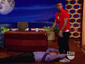 The Situation shares his workout secrets with Conan O'Brien.