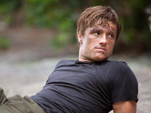 Josh Hutchinson in The Hunger Games