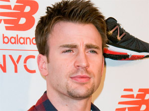 Chris Evans attends the opening of the new Balance Experience store in New York City