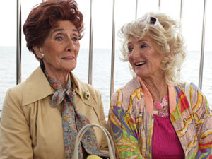 At the fair, Dot and Rose talk about their childhood.