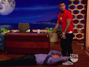 The Situation on Conan O'Brien show