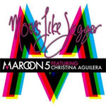 Single Artwork for Maroon 5's 'Moves like Jagger'