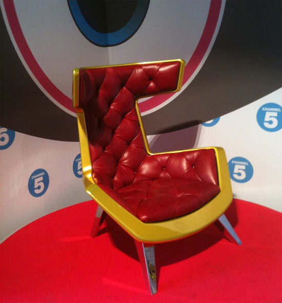 Diary Room Chair from Big Brother 11