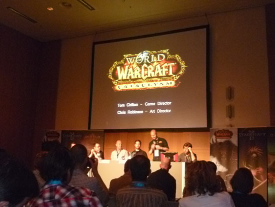 Blizzard live blog - gamescom 2011