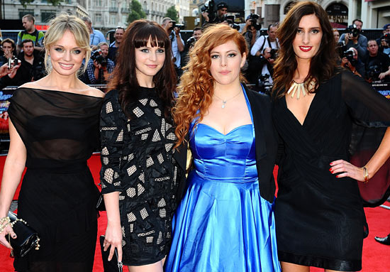 Laura Haddock, Tamla Kari, Lydia Rose Bewley and Jessica Knappett