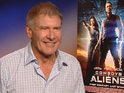 Harrison Ford reveals that he had initial reservations about starring in Cowboys & Aliens.