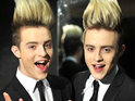 Jedward reveal during a Celebrity Big Brother task that their hair is insured.