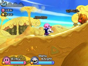Screenshot from Kirby's adventure