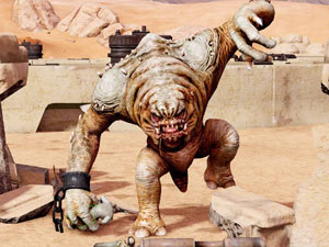 Kinect Star Wars Rancor