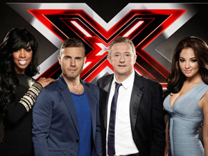 The new look X Factor panel