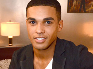 Actor Lucien Laviscount who will be known to Waterloo Road fans as Jonah Kirby