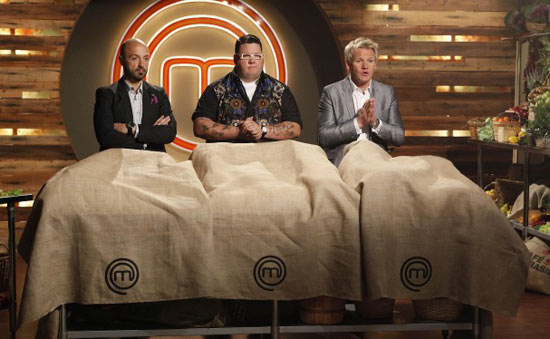 The judges reveal the ingredients in mystery box challenge.