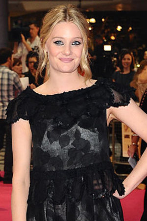 Romola Garai at the 'One Day' premiere at Westfield