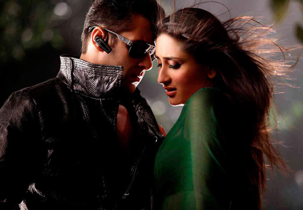 Kareena Kapoor and Salman Khan in 'Bodyguard'