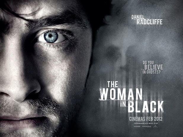 Daniel Radcliffe in 'The Woman In Black' poster