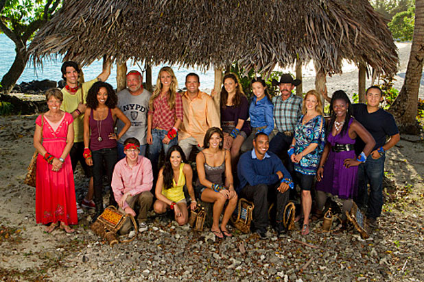 Survivor South Pacific: The 16 cast members