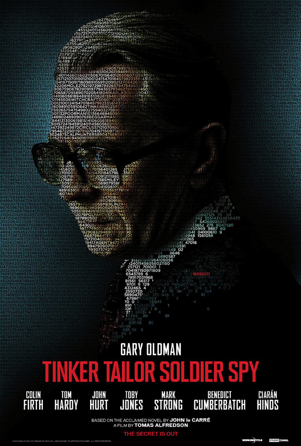 'Tinker, Tailor, Soldier, Spy' Character Posters