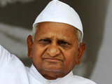 India's anti-corruption activist Anna Hazare