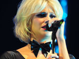 Pixie Lott performs at Manchester Pride