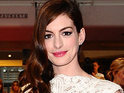 Anne Hathaway pays tribute to Meryl Streep at the Kennedy Center Honors.