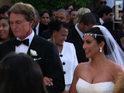 Kim Kardashian donned three Vera Wang dresses at her wedding to Kris Humphries.