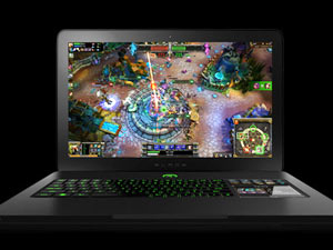 The first gaming laptop - Razer Blade