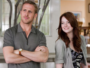 Ryan Gosling and Emma Stone in 'Crazy, Stupid, Love'