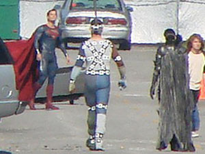 'Man Of Steel' movie set