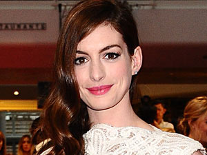 Anne Hathaway at the 'One Day' premiere at Westfield