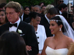 Kim Kardashian's wedding to Kris Humphries as filmed by E! News