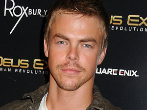 Derek Hough attends the &#39;Deus Ex: Human Revolution&#39; launch party in Hollywood