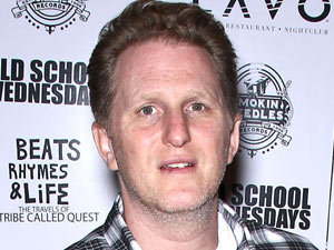 Michael Rapaport attending an event at Old School Wednesdays at Lavo, Las Vegg