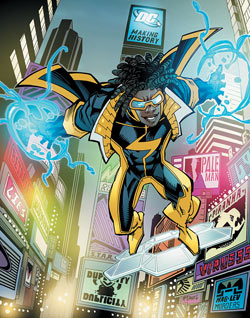 The New 52 - Static Shock