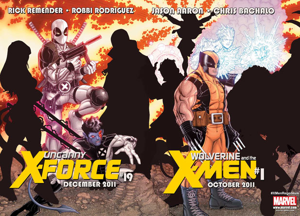 X-Men: Regenesis Wolverine teams