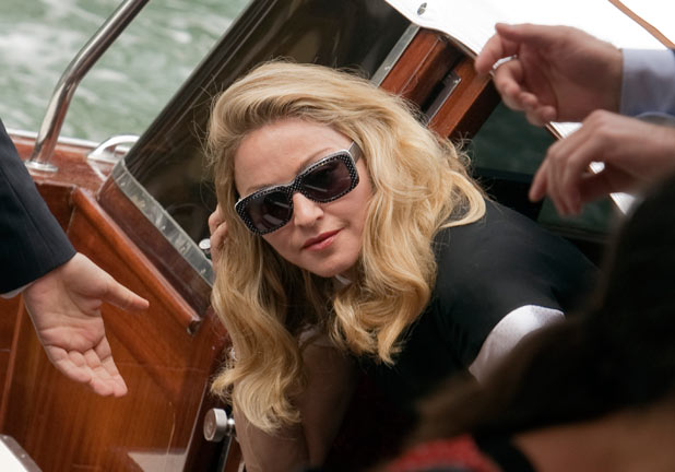 Madonna at the Venice Film Festival