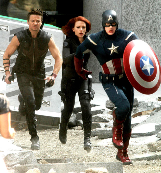 The Avengers Filming