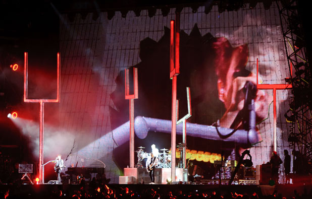 Muse perform at Reading festival