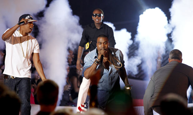 VMAS 2011: Jay-Z and Kayne West
