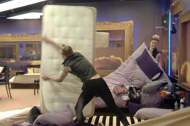 Jedward causing chaos in the Celebrity Big Brother house