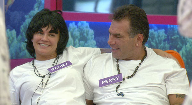 Kerry and Perry play the Twin Task in Celebrity Big Brother 2011
