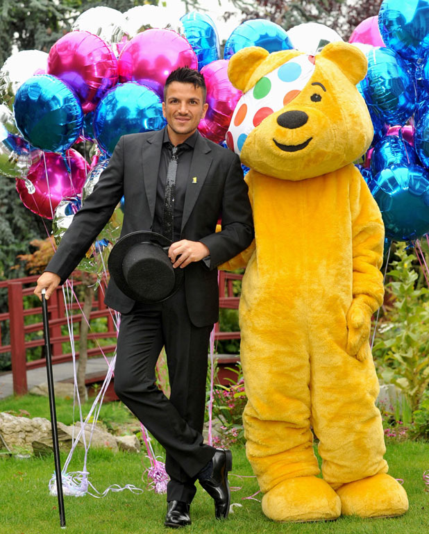 Peter Andre launches Pop Goes The Musical