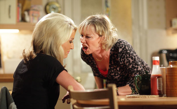 Carol lets her anger be known after she finds out about Vanessa and Eddie's affair