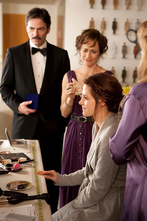 Bella preparing for her wedding