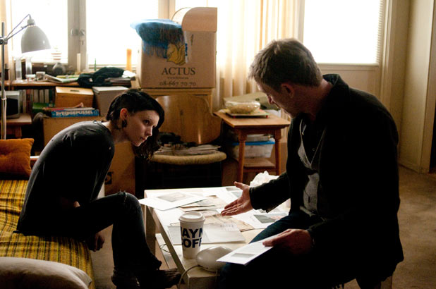 Lisbeth Salander and Mikael Blomkvist