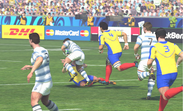 Rugby World Cup 2011 - Screenshots